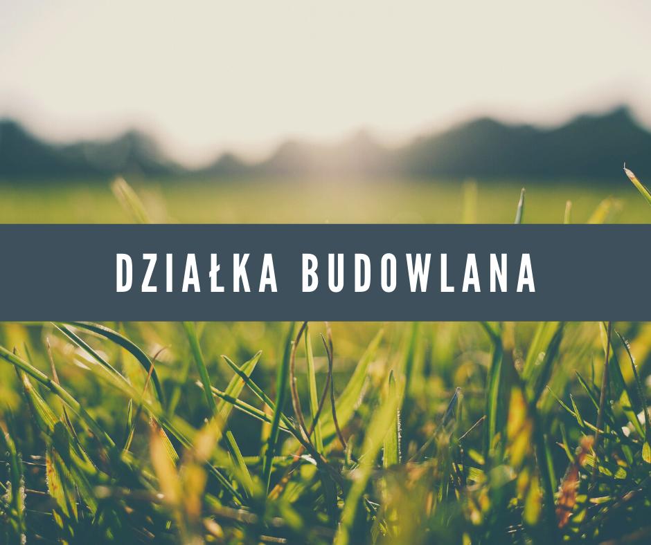 Działka budowlana 6,82 ara w Kolonii Gosławickiej